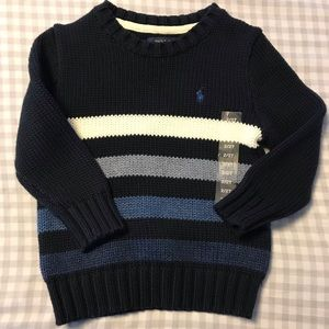 Toddler Boys Polo Sweater